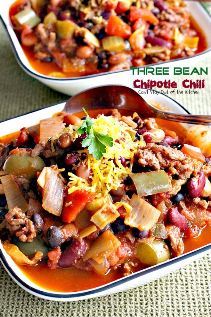 beef and bean chili recipes dishmaps chipotle beef and bean chili ...