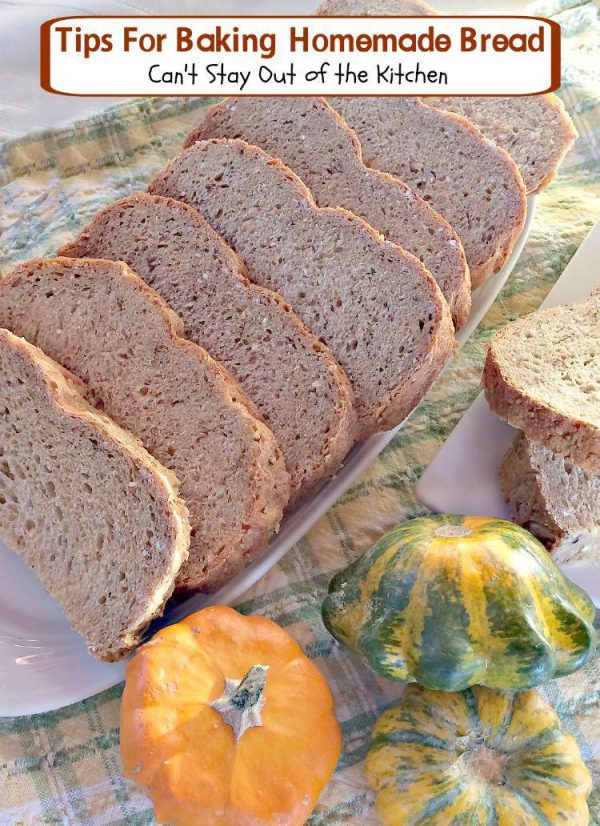 Tips For Baking Homemade Bread   Can't Stay Out of the Kitchen   Tips for #kneading and preparing dough for baking #homemadebread. #bread