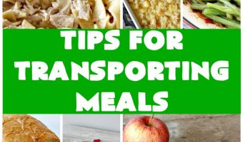 Tips for Transporting Meals