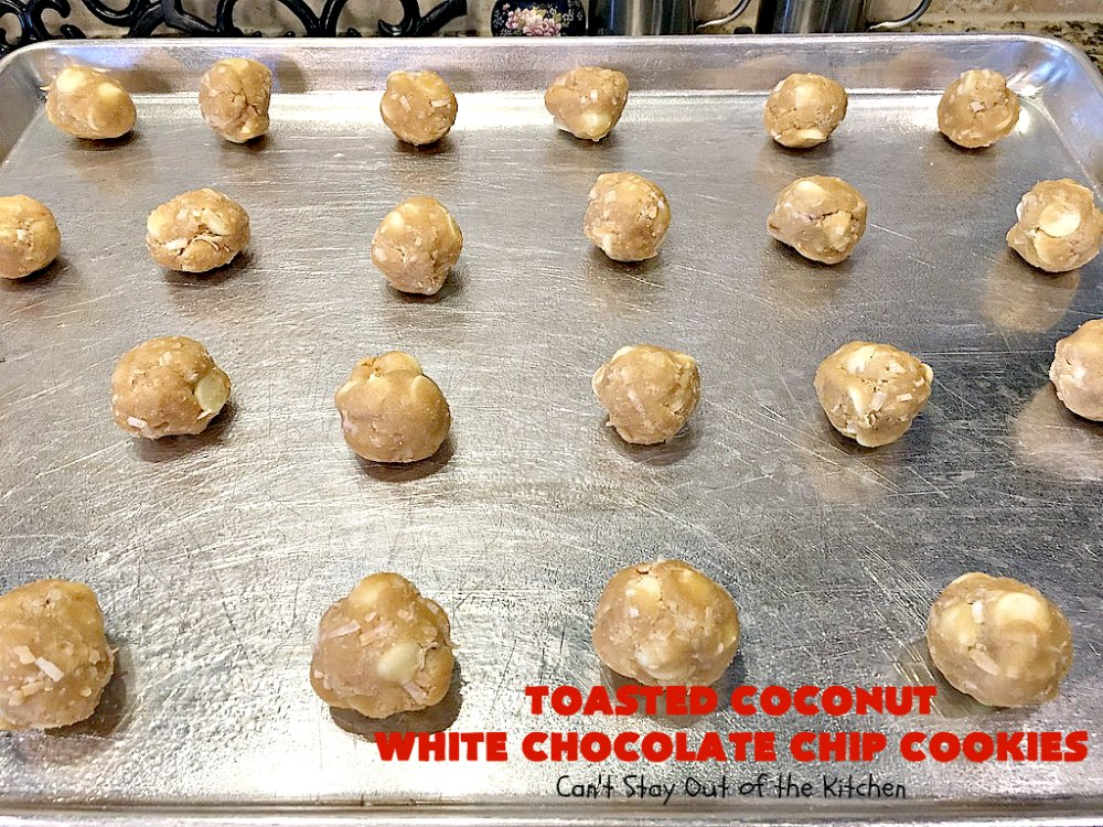 Toasted Coconut Chocolate Chip Cookies Cooking Light