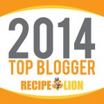 TOP 2014 BLOGGER @ RECIPE LION