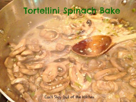 Tortellini Spinach Bake - Recipe Pix 15 113