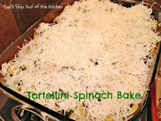 Tortellini Spinach Bake - Recipe Pix 15 200