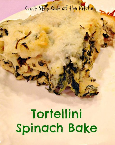 Tortellini Spinach Bake - Recipe Pix 15 261