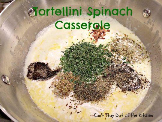 Tortellini Spinach Casserole - IMG_2077.jpg