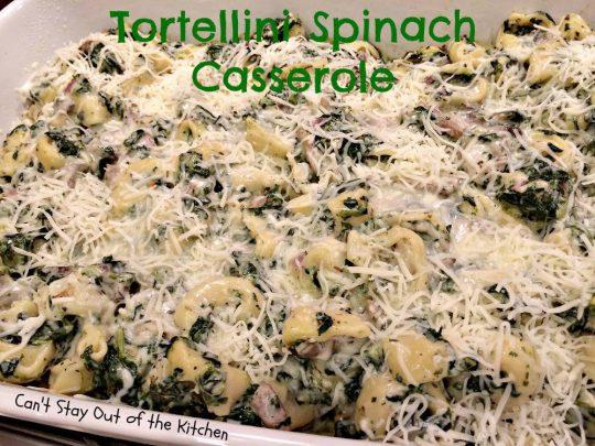 Tortellini Spinach Casserole - IMG_2086.jpg