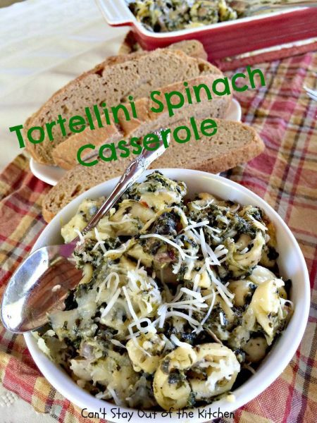 Tortellini Spinach Casserole - IMG_2112.jpg