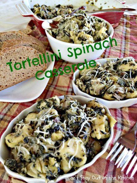 Tortellini Spinach Casserole - IMG_2123.jpg