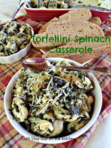 Tortellini Spinach Casserole - IMG_2152.jpg