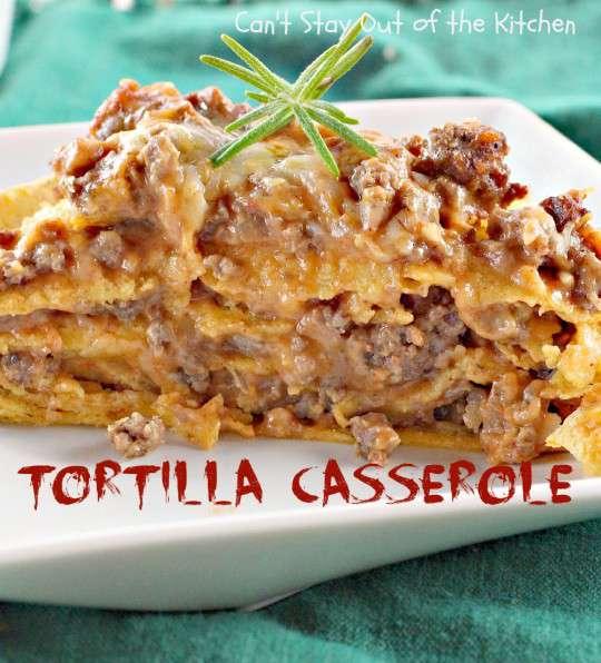 Tortilla Casserole - IMG_9261