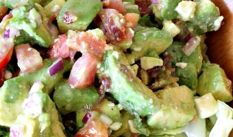 Tossed Guacamole Salad