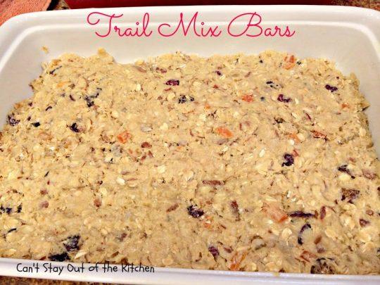 Trail Mix Bars - IMG_5716