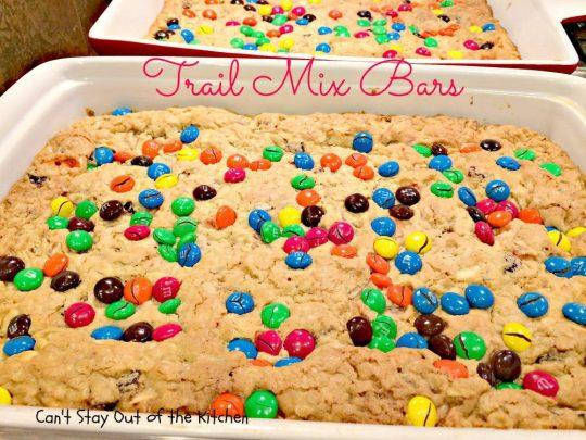 Trail Mix Bars - IMG_5724