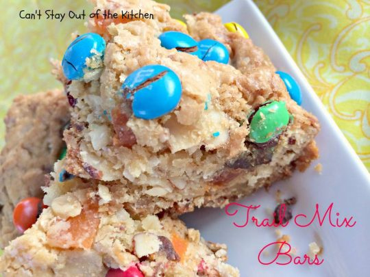 Trail Mix Bars Can T Stay Out Of The Kitchen