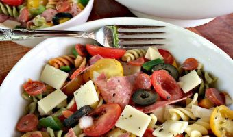Trio Antipasto Salad