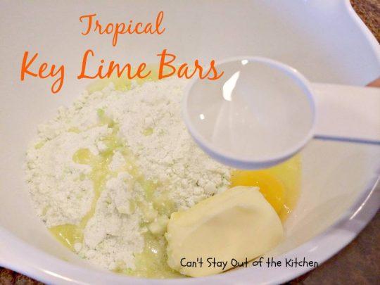 Tropical Key Lime Bars - IMG_4982