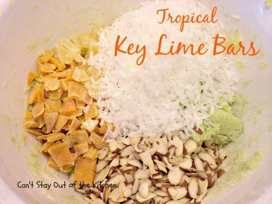 Tropical Key Lime Bars - IMG_4983