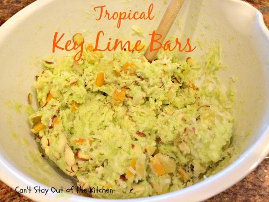 Tropical Key Lime Bars - IMG_4984
