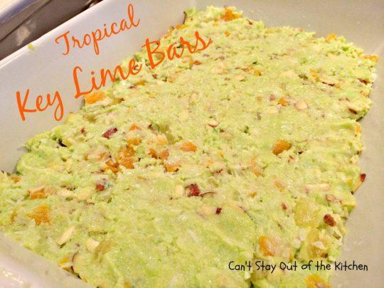 Tropical Key Lime Bars - IMG_4985