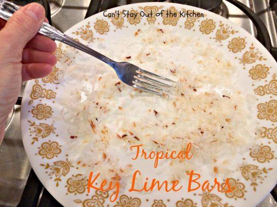 Tropical Key Lime Bars - IMG_4987