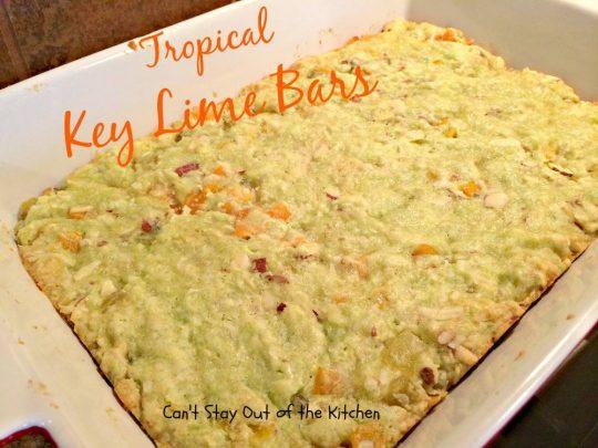 Tropical Key Lime Bars - IMG_4995