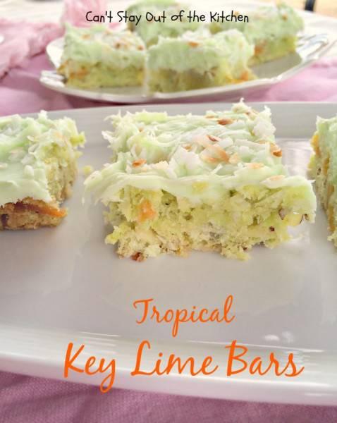 Tropical Key Lime Bars - IMG_5019