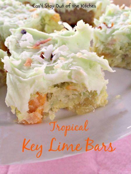 Tropical Key Lime Bars - IMG_5024