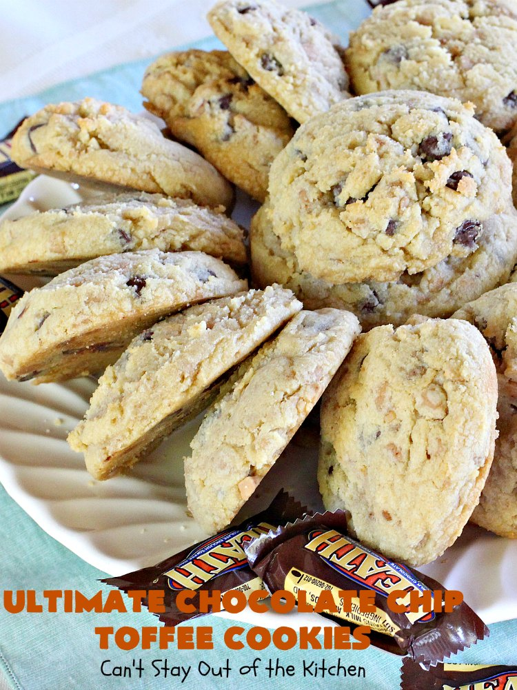 Fantastic Ultimate Chocolate Chip Toffee Cookies Download Free Architecture Designs Parabritishbridgeorg
