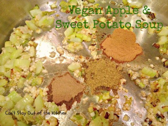 Vegan Apple and Sweet Potato Soup - Recipe Pix 15 388