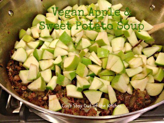 Vegan Apple and Sweet Potato Soup - Recipe Pix 15 390