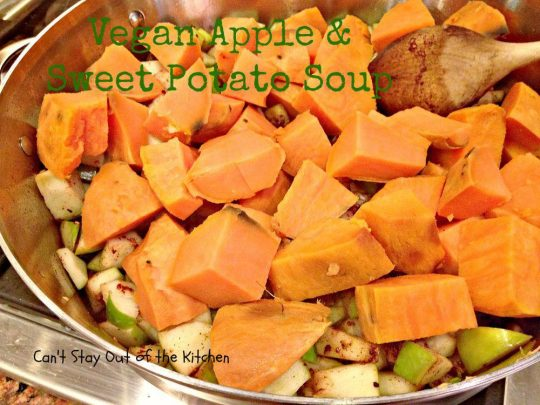 Vegan Apple and Sweet Potato Soup - Recipe Pix 15 391