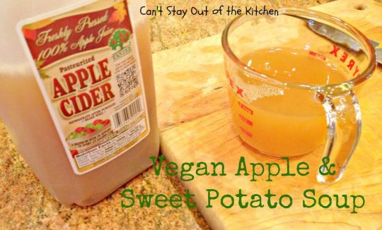 Vegan Apple and Sweet Potato Soup - Recipe Pix 15 392