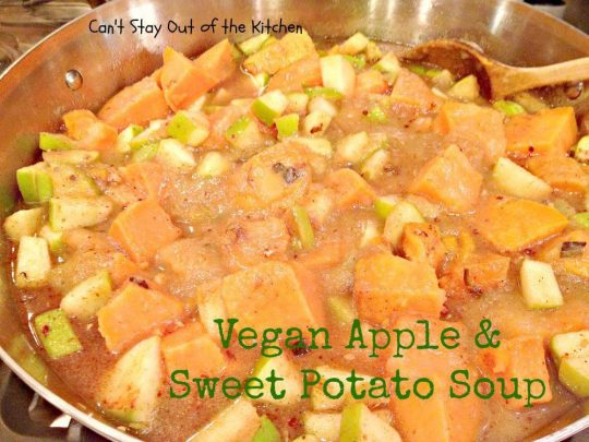 Vegan Apple and Sweet Potato Soup - Recipe Pix 15 394