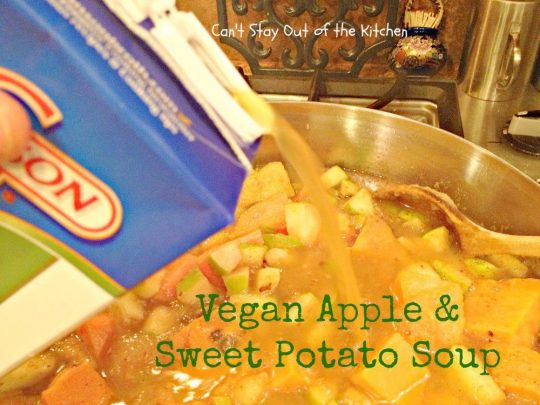 Vegan Apple and Sweet Potato Soup - Recipe Pix 15 395