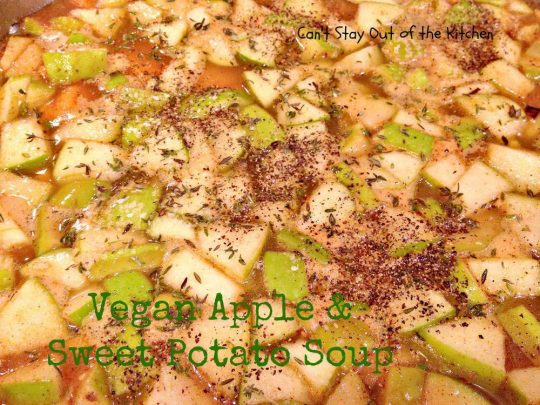 Vegan Apple and Sweet Potato Soup - Recipe Pix 15 400