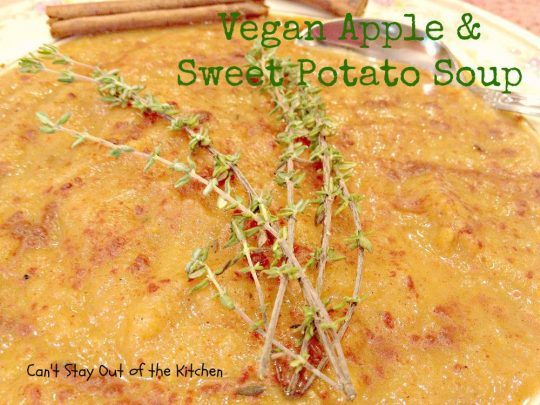Vegan Apple and Sweet Potato Soup - Recipe Pix 15 468