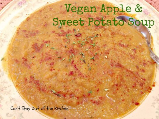 Vegan Apple and Sweet Potato Soup - Recipe Pix 15 471