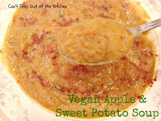 Vegan Apple and Sweet Potato Soup - Recipe Pix 15 473
