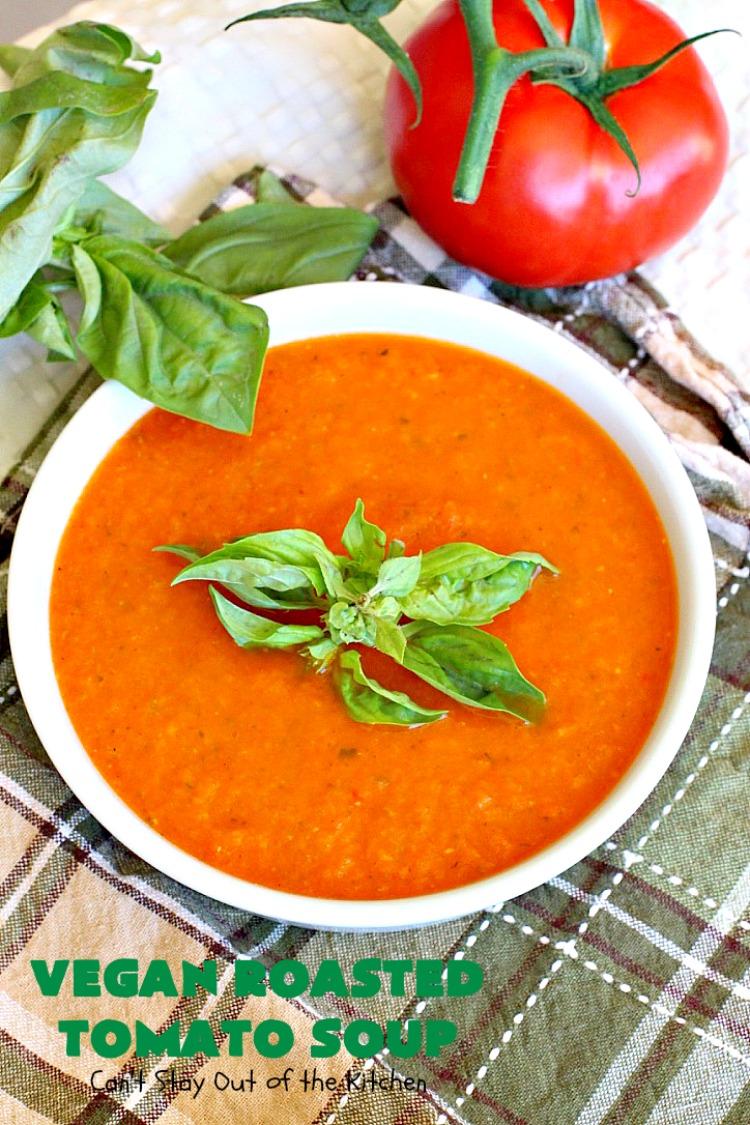how to make vegan tomato soup