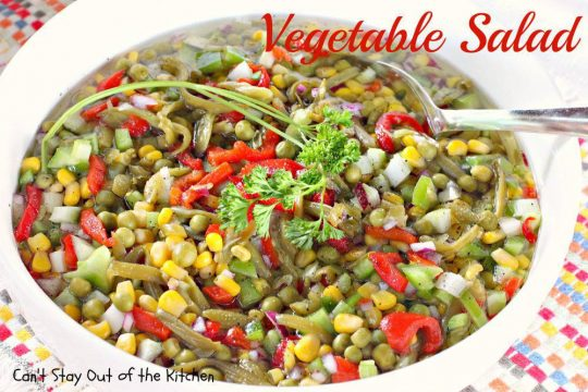 Vegetable Salad - IMG_4297