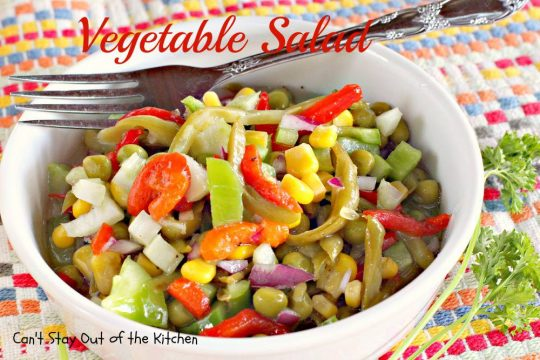 Vegetable Salad - IMG_4311