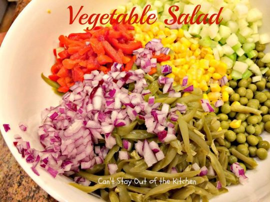 Vegetable Salad - IMG_8788