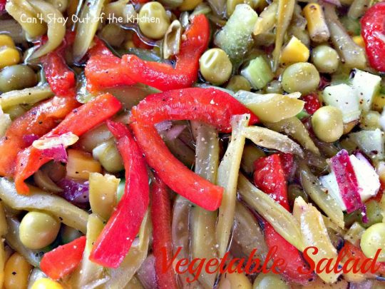 Vegetable Salad - IMG_8796