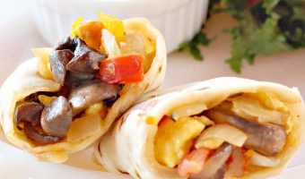 Veggie Breakfast Burritos