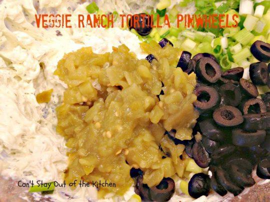 Veggie Ranch Tortilla Pinwheels - IMG_2491