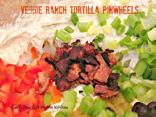 Veggie Ranch Tortilla Pinwheels - IMG_2494