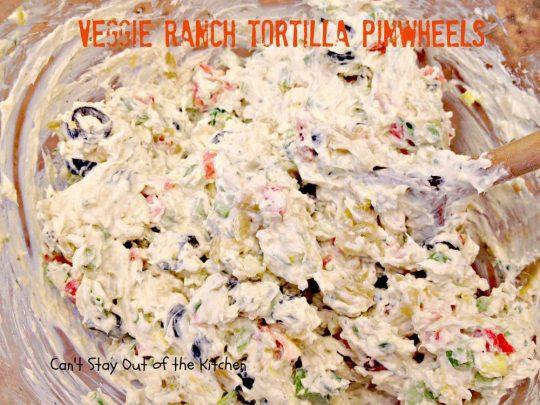Veggie Ranch Tortilla Pinwheels - IMG_2495