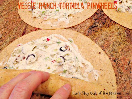 Veggie Ranch Tortilla Pinwheels - IMG_2502