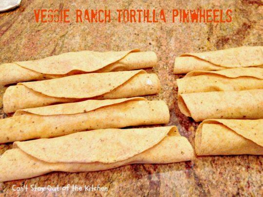 Veggie Ranch Tortilla Pinwheels - IMG_2504