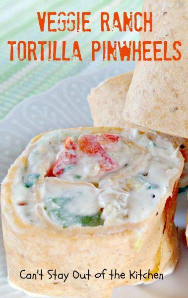 Veggie Ranch Tortilla Pinwheels - IMG_2530